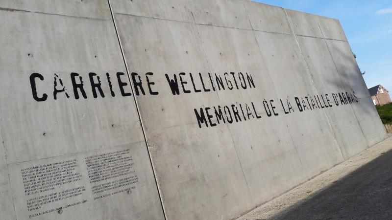 La Carrière Wellington - L'entrée